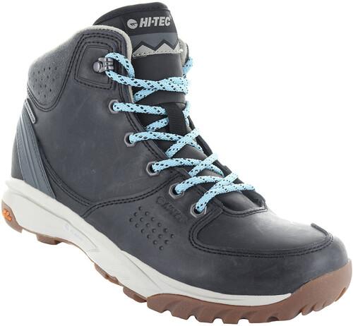 Hi-Tec Equilibrio Bijou Mid I WP Shoes Women Black/Forget Me Not 37 2017 Trekking- & Wanderschuhe V7cLi8